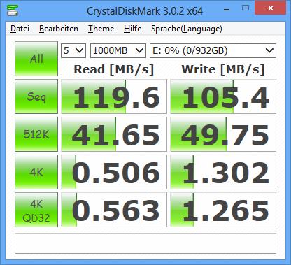 Toshiba STOR.E Basics crystal-disk