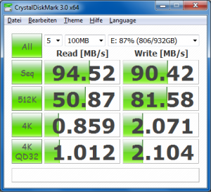 Buffalo DriveStation HD-HXU3 - Benchmark